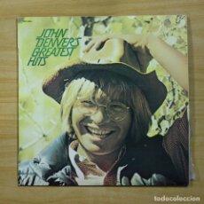 Discos de vinilo: JOHN DENVER - GREATEST HITS - LP. Lote 177482100