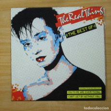 Discos de vinilo: THE REAL THING - THE BEST OF - LP. Lote 144639724