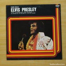 Discos de vinilo: ELVIS PRESLEY - PURE GOLD - LP. Lote 144643808