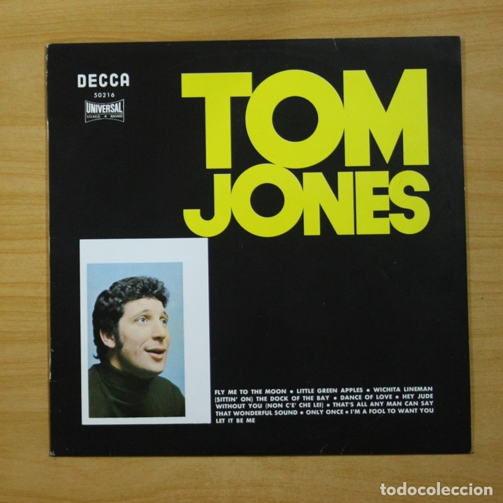 TOM JONES - TOM JONES - LP (Música - Discos - LP Vinilo - Pop - Rock - Extranjero de los 70)