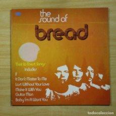 Discos de vinilo: BREAD - THE SOUND OF - LP. Lote 144645225