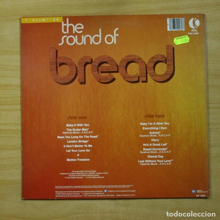 Discos de vinilo: BREAD - THE SOUND OF - LP - Foto 2 - 144645225