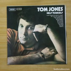Discos de vinilo: TOM JONES - HELP YOURSELF - LP. Lote 144647570