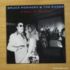 Discos de vinilo: BRUCE HORNSBY & THE RANGE - A NIGHT ON THE TOWN - LP. Lote 144651693