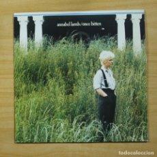 Disques de vinyle: ANNABEL LAMB - ONCE BITTEN - LP. Lote 144653014