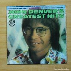 Discos de vinilo: JOHN DENVER - GREATEST HITS - LP. Lote 144654585