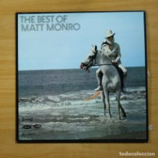 Discos de vinilo: MATT MONRO - THE BEST OF - LP. Lote 144660422