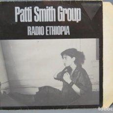 Discos de vinilo: LP. PATTI SMITH. RADIO ETHIOPIA. Lote 144683650