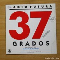 Discos de vinilo: RADIO FUTURA - 37 GRADOS - MAXI. Lote 144693736