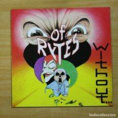 Discos de vinilo: OF RYTES - WITHOUT - LP. Lote 144694086