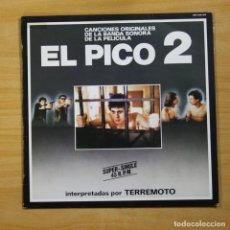 Discos de vinilo: TERREMOTO - EL PICO 2 - MAXI. Lote 144694192