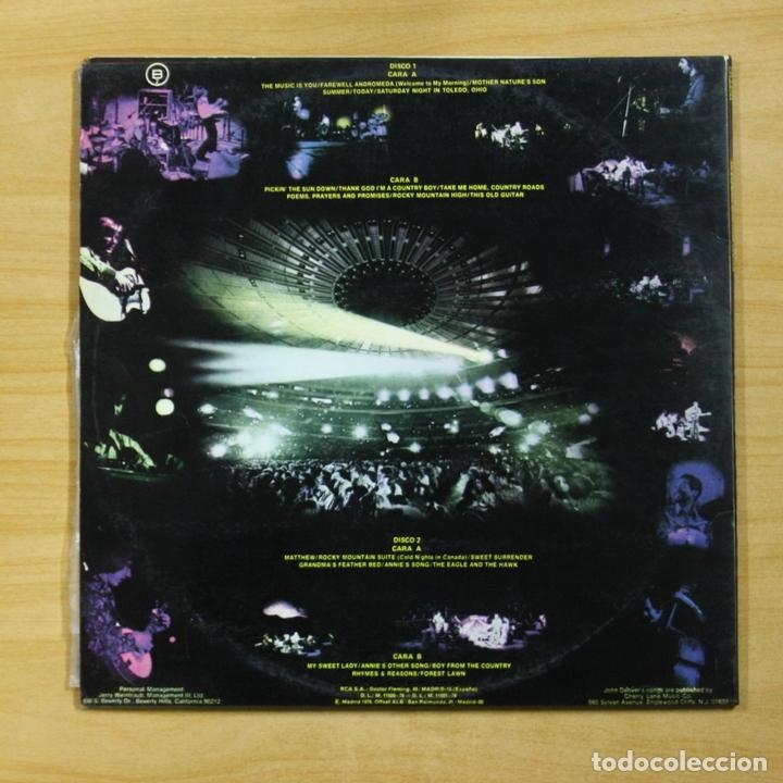 Discos de vinilo: JOHN DENVER - AN EVENING WITH - GATEFOLD - 2 LP - Foto 2 - 165753681