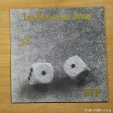 Disques de vinyle: PVP - LAS REGLAS DEL JUEGO - LP. Lote 144700841