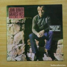 Discos de vinilo: JOHN DENVER - GREATEST HITS - LP. Lote 144701764