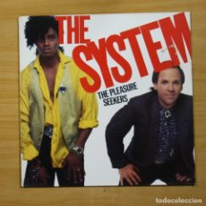Discos de vinilo: THE SYSTEM - THE PLEASURE SEEKERS - LP. Lote 144707809