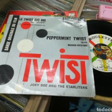 Discos de vinilo: JOEY DEE AND THE STARLITERS EP TWIST FRANCIA. Lote 144708801