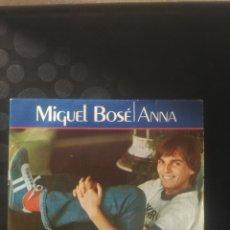 Discos de vinilo: MIGUEL BOSÉ ,ANNA. Lote 144711609