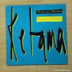 Discos de vinilo: KETAMA / TOUMANI DIABATE - VENTE PA MADRID - MAXI. Lote 144711874