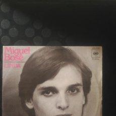 Discos de vinilo: MIGUEL BOSÉ,LINDA. Lote 144711950