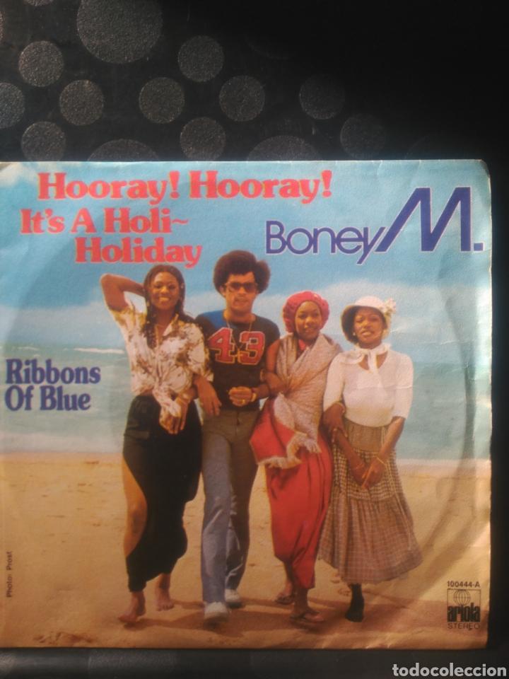 BONEY M, RIBBONS OF BLUE (Música - Discos - Singles Vinilo - Funk, Soul y Black Music)