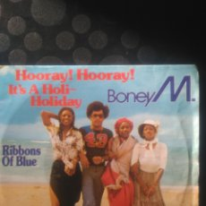 Discos de vinilo: BONEY M, RIBBONS OF BLUE. Lote 144713368
