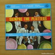 Discos de vinilo: THE PLATTERS - SIEMPRE THE PLATTERS - LP. Lote 144713512