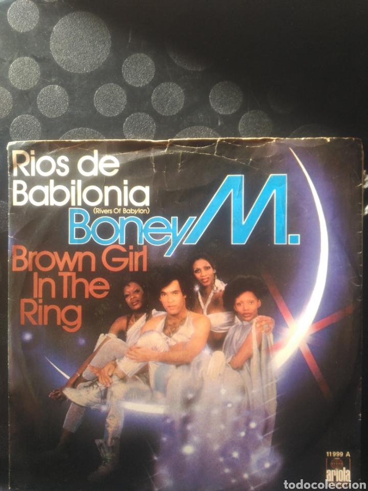 BONEY M ,RÍOS DE BABILONIA (Música - Discos - Singles Vinilo - Funk, Soul y Black Music)