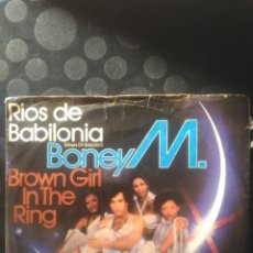 Discos de vinilo: BONEY M ,RÍOS DE BABILONIA. Lote 144713533
