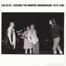 Discos de vinilo: THE KLITZ – ROCKING THE MEMPHIS UNDERGROUND 1978 - 1980 LP PUNK, GARAGE ROCK, LO-FI. Lote 144714818