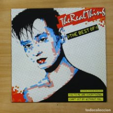 Discos de vinilo: THE REAL THING - THE BEST OF - LP. Lote 144716293