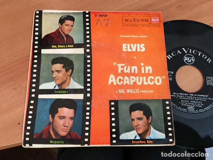 Elvis Presley Fun In Acapulco Vino Dinero Y Am Kaufen Vinyl