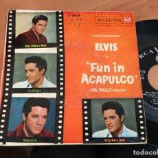 Discos de vinilo: ELVIS PRESLEY FUN IN ACAPULCO (VINO DINERO Y AMOR) EP ESPAÑA 1964 (EPI14). Lote 144727106
