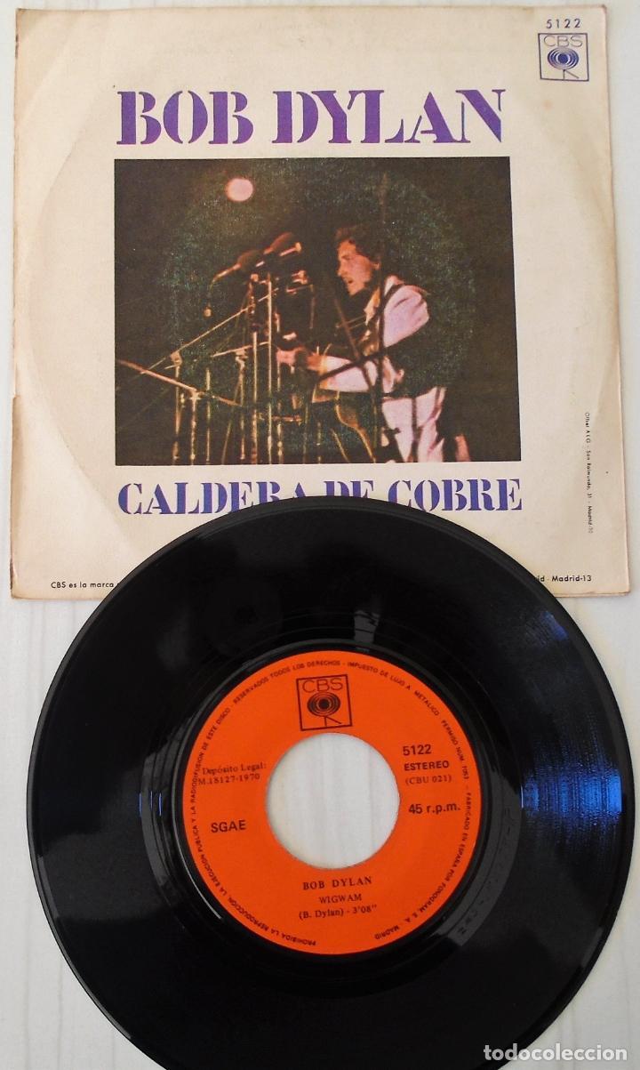 Discos de vinilo: BOB DYLAN - WIGWAM C B S - 1970 - Foto 2 - 144729746