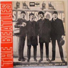 Discos de vinilo: THE BEATLES - KANSAS CITY + 3 TEMAS ODEON - 1964. Lote 144731502