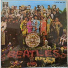 Discos de vinilo: THE BEATLES - WITH A LITTLE HELP FROM MY FRIENDS ODEON - 1968. Lote 144732914