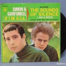 Discos de vinilo: EP. SIMON & GARFUNKEL. I AM A ROCK + 3. Lote 144733070
