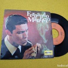 Discos de vinilo: SINGLE EP FERNANDO MAURÍCIO–O BEIJO QUE NÃO SE DEU (EX-/EX-) SPANISH FADO Ç. Lote 144740750
