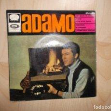 Discos de vinilo: ADAMO / UNE MECHE DE CHEVEUX / SONNET POUR NOTRE AMOUR / PRINCESSES ET BERGERES / EPL14273. Lote 144772454