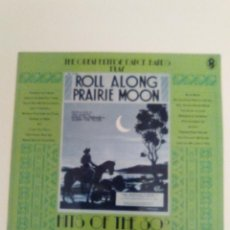Discos de vinilo: ROLL ALONG PRAIRIE MOON THE GREAT BRITISH DANCE BANDS PLAY HITS OF THE 30'S ( 1978 EMI UK ) EX EX. Lote 144777710