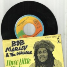 Discos de vinilo: BOB MARLEY SINGLE THREE LITTLE BIRDS 1977. Lote 144784402