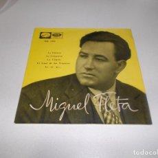Discos de vinilo: MIGUEL FLETA LA DOLORES,LA FEMATERA,LA VIRGEN,AY AY AY LA VOZ DE SU AMO. Lote 231172080