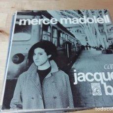 Discos de vinilo: MERCÈ MADOLELL CANTA JACQUES BREL - NO TE'N VAGIS PAS - HEM D'APRENDRE A MIRAR - ELS PASTORS +1. Lote 144795222