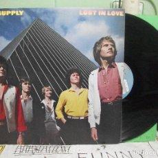 Discos de vinilo: AIR SUPPLY LOST IN LOVE LP 1980 ARISTA EDICION ESPAÑOLA SPAIN PEPETO. Lote 144800294