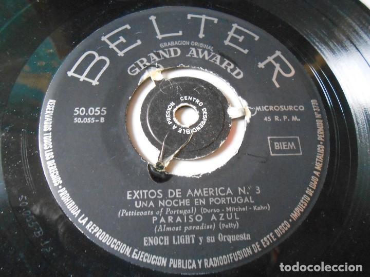 Discos de vinilo: ENOCH LIGHT y su Orquesta, EP, MONA, MONA, MONA CALYPSO BABY + 3, AÑO 1959 - Foto 3 - 144825474