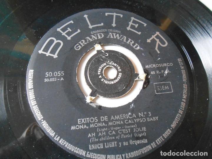 Discos de vinilo: ENOCH LIGHT y su Orquesta, EP, MONA, MONA, MONA CALYPSO BABY + 3, AÑO 1959 - Foto 4 - 144825474