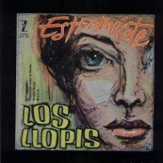 Discos de vinilo: LOS LLOPIS EP 45 RPM ESTREMÉCETE +3. Lote 144828370