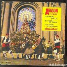 Discos de vinilo: CONCHITA PUEYO, EL ZAGAL DE OLIETE EP. Lote 144829170