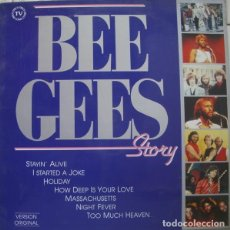 Discos de vinilo: BEE GEES – BEE GEES STORY. LP EN VINILO.. Lote 206441668