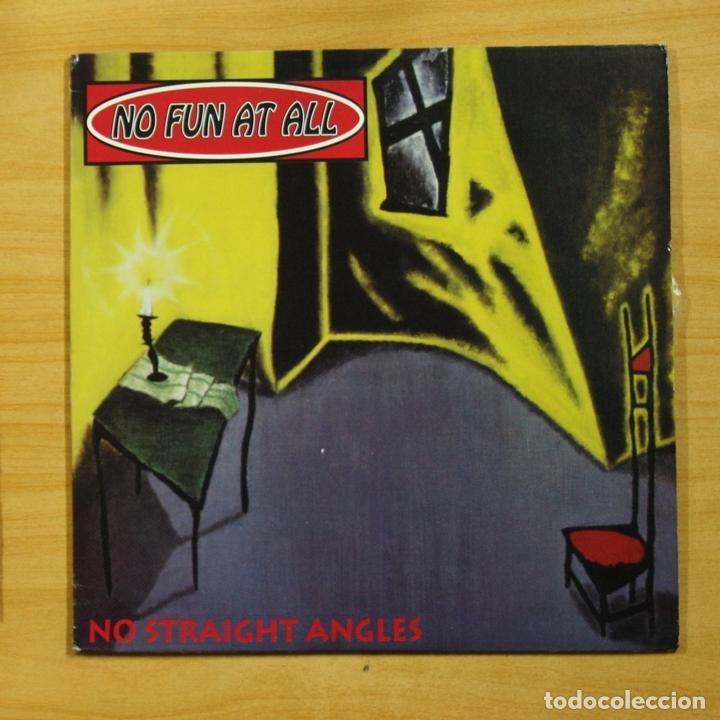NO FUN AT ALL - NO STRAIGHT ANGLES - LP