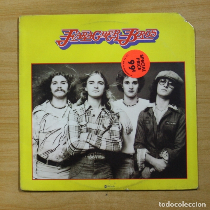 FARAGHER BROS - FARAGHER BROS - LP (Música - Discos - LP Vinilo - Pop - Rock - Extranjero de los 70)